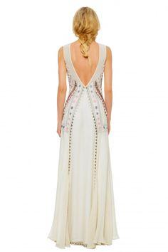 Mara Hoffman | Lakshmi Embroidered Gown