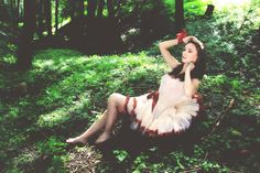 photo, model, photography, dolly, forest, nature, make up