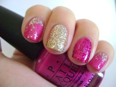 Blingy Pink and Silver