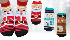 Make your feet festive in a pair of Christmas Cartoon Socks from £6.99