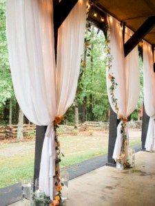 Elegant outdoor wedding decor ideas on a budget 20
