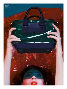 visual optimism; fashion editorials, shows, campaigns & more!: emballement général: viky kaya by jean-pacôme dedieu for stylist #068 6th november 2014