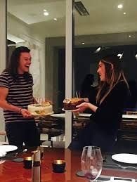 Znalezione obrazy dla zapytania kendall jenner and harry styles leaked<<He looks so happy, please, no one ruin this relationship.
