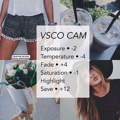 VSCO photo filter