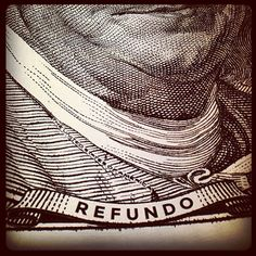 Green has a new face. See you at #NYTD. #money #Refundo Photo by refundo