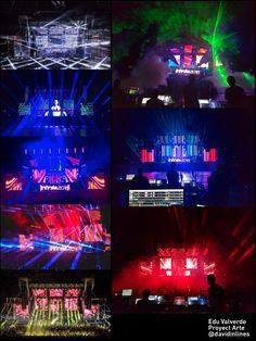#AudiovisualCreativity #Resolume #QuartzComposer Creación de visuales y Vjing en directo para la fiesta  #Infinita2016 #Madrid