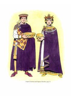 Byzantine Fashions 43  #Byzantine #garb #SCA