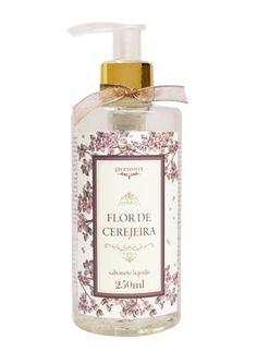 R$ 30,00 Sabonete Líquido Pet 250ml Essência Flor De Cerejeira