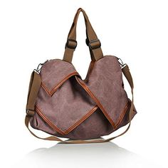 Unives® Retro Canvas Shoulder Bag for Traveler Oversized Casual Handbag  Cross body Hobo Style Tote 40c859b9e5f6c