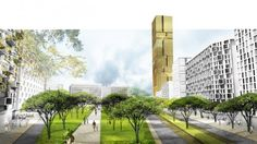 Central Tirana Masterplan / Grimshaw Architects
