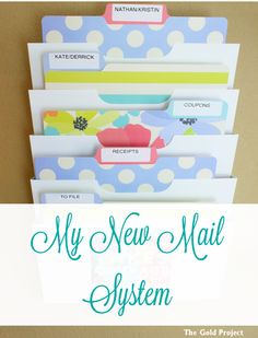 My New Mail System!