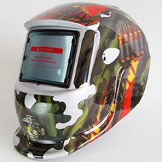 Competent Cool Skull Mask Helmet Solar Auto Welding Helmet Darkening Mig Mma Electric Welding Mask Welding Helmet Welder Cap Welding Lens Welding Helmets