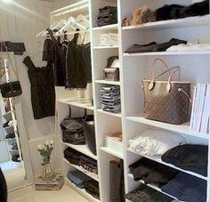 Simple Walk In Closet More Closet Idea Walk In Closet Dream Closet