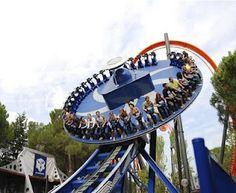 Parque de Atracciones de Madrid Roller Coaster Ride, Roller Coasters, Madrid, Amusement Park Rides, Hello Summer, Attraction, Travel, Amusement Parks, Voyage