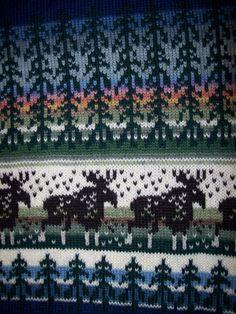 Fair Isle Pattern, Knitting Charts, Mittens, Cross Stitch, Crochet, Accessories, Border Tiles, Tejidos, Tricot