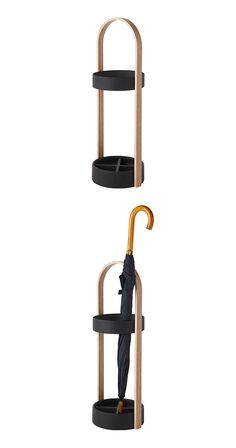 Fussy has never been your style, but that doesn't mean you don't need the necessities. Such is the case with this sleek, appealing Arch Umbrella Stand. Made with a water resistant resin base divided in...  Find the Arch Umbrella Stand, as seen in the Danish Modern Comes to Life Collection at http://dotandbo.com/collections/danish-modern-comes-to-life?utm_source=pinterest&utm_medium=organic&db_sku=113724