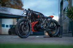 "HONDA CB 550 F #27  ""SDNO"" - RocketGarage - Cafe Racer Magazine"