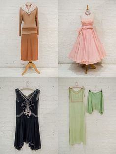 A selection of Vintage clothing from my Vintage shop.