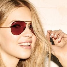 Trending: Rose colored sunglasses