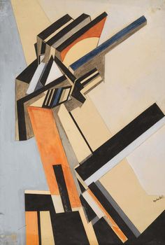 Wyndham Lewis: Portrait of an Englishwoman (1913 or 1914)