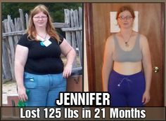 Jennifer lost 125 pounds in 21 months doing DDP YOGA!! #DDPY #Health #Fitness #NeverGiveUp