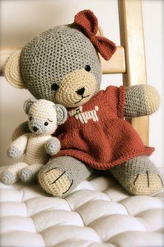 old teddy girl