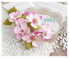 Foamiran Apple Blossom Flowers - Lady E Design Shade Flowers, Diy Flowers, Paper Flowers, Apple Blossom Flower, Foam Sheet Crafts, Paper Crafts Magazine, Wedding Tattoos, Flower Tutorial, Cake Tutorial