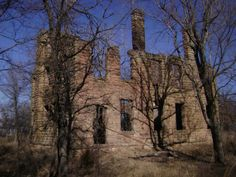 Labadie Mansion in NE Oklahoma I grew up near here hearing ghost stories about this place!