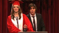 In this High School Musical spoof, Troy Bolton (Zac Efron) returns to East High to tell the graduating class that no one sings or dances in college and Walt Disney (Darrell Hammond) invites Troy back to High School Musical. [Season 34, 2009]