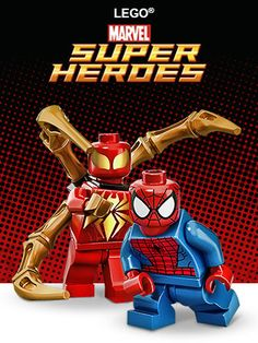 Shop for the latest new LEGO sets. Browse a vast LEGO assortment and filter by age, price, interest and more. Lego Spiderman, Lego Ironman, Lego Marvel's Avengers, Age Of Ultron, Legos, La Grande Aventure Lego, Marvel Dc, Captain America, Lego Universe