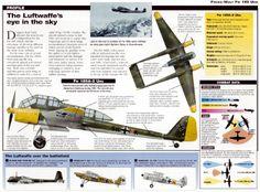 Reccemaritime on German Aircraft of WWII Focke-Wulf Fw 189 Uhu