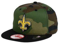 purchase cheap e3974 3f129 New Orleans Saints NFL Camo Two Tone 9FIFTY Snapback Cap Hats Snapback Cap, Caps  Hats
