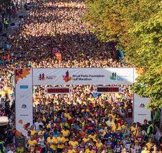 Royal Parks Foundation Half Marathon 2013