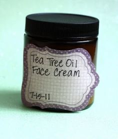 How to Make Tea Tree Oil Face Cream Recipe. Tea tree oil has become a popular natural ingredient in all kinds of shampoos, face soaps and ointments because of its amazing healing powers.