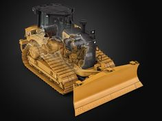 Inside the Cat® XE Dozer Electric Drive Power Train Video Production, Tractors, Electric, Train, Cats, Youtube, Gatos, Kitty Cats, Cat