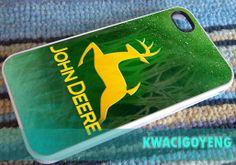 john deere logo  iPhone 4/4s/5/5s/5c Case  Samsung by kuWacigoyeng, $15.00