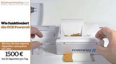 OCB Poweroll 2 Elektrische Stopfmaschine video demo von Stopfmaschineshop.com