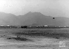 Castelló en el NO-DO: Acrobacia aérea en Castellón. Exhibición del Capitán Castaños. 1966. (min. 02:42)