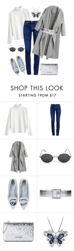 """""""n.t."""" by steffilovesyou88 ❤ liked on Polyvore featuring AG Adriano Goldschmied, Chiara Ferragni, Orciani and Love Moschino"""