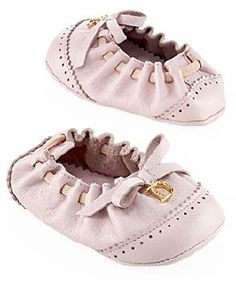 Dior Leather Ballerina Baby Shoes for my Future Girl