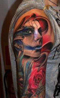 realistic tattoo | Big Tattoo Planet Community Forum - silesanda's Album: Tattoo work ...