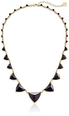 "House of Harlow 1960 Gold-Plated Pyramid Station Black Necklace, 21"" House of Harlow 1960 http://www.amazon.com/dp/B005PV39UC/ref=cm_sw_r_pi_dp_uocivb1C4SYPF"