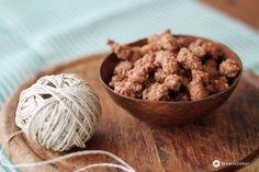 Teil 2 von Post aus meiner Küche Froh und Lecker: gebrannte Mandeln selbermachen. Mit Zimt und braunem Zucker wie frisch vom Weihnachtsmarkt!