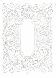 This Pin was discovered by Вал Cutwork Embroidery, Embroidery Stitches, Embroidery Patterns, Craft Patterns, Quilt Patterns, Romanian Lace, Lace Painting, Bobbin Lace Patterns, Quilt Border