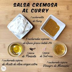 🍶Salsa cremosa al curry