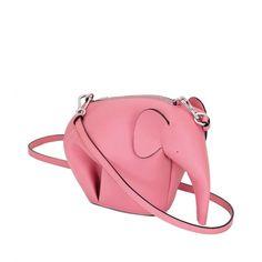 Loewe Animals - ELEPHANT MINIBAG Candy