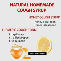 Natural Remedies For Cough Natural cough syrup Home Remedy For Cough, Natural Cough Remedies, Holistic Remedies, Health Remedies, Healthy Drinks, Healthy Tips, Homemade Cough Syrup, Just Natural Products, Health Shop