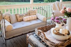 Summertime means outdoor living to me. Summer days are too hot in Texas to be on the porch, but mornings and late evenings are perfect. You can see the porch has a gold tint as the sun is setting. Looking for Summer decorating ideas for indoors and outdoors? Check out our podcast episode today.  …