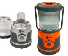 This lantern is indestructible and will shine for 30 straight days on only three D batteries.neat stuff!
