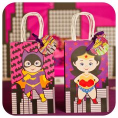 Supergirls Birthday Party Ideas | Photo 1 of 69 | Catch My Party